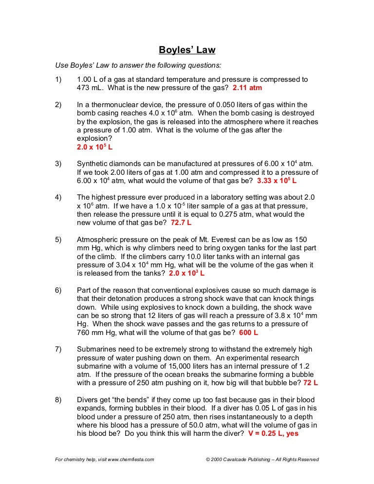 Gas Law Worksheet Answers Delibertad – Combined Gas Law Worksheet Answers