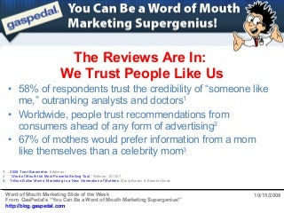 Word Of Mouth Marketing Research Paper - image 9