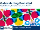 Gatewatching Revisited: Habitualisation, Demoticisation, Normalisation
