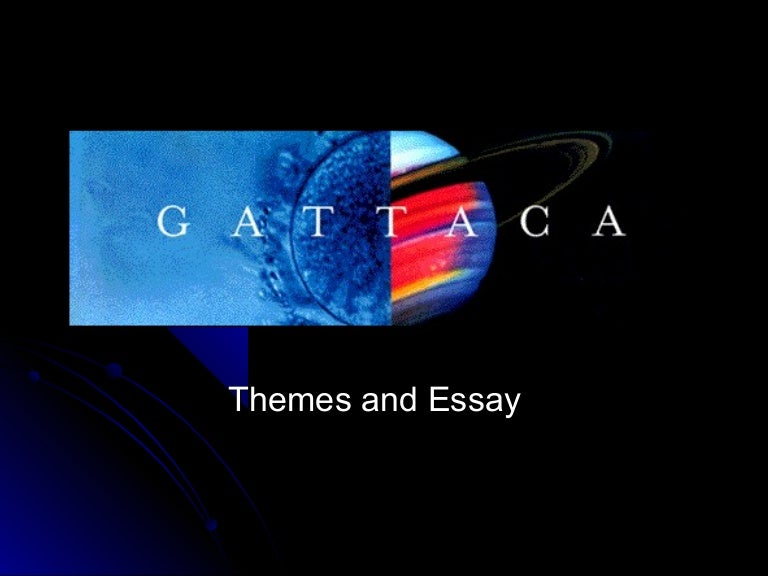 gattaca essay writing power point