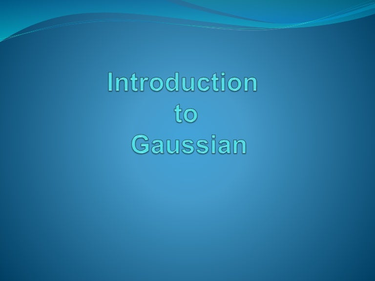 How to calculate gibbs free energy using gaussian
