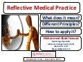 Reflective Medical Practice - Dr. Gawad