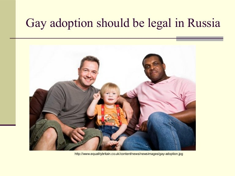 Pro to gay adoption