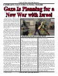 Gaza Is Planning For A New War With Israel  -  Prophecy In The News Magazine   October 2006