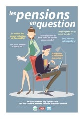 Les pensions en question