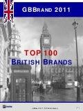 GBBrand 2011 - TOP 100 British Brands