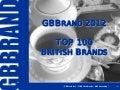 GBBrand 2012 - TOP 100 British Brands