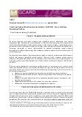 GCARD2: Briefing paper  Household Nutrition Security - South Asia Food and Nutrition Security Initiative