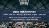 Digital Transformation:  Endless opportunities that comes with endless challenges