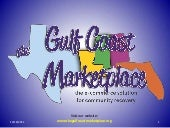 Gulf Coast Marketplace concept