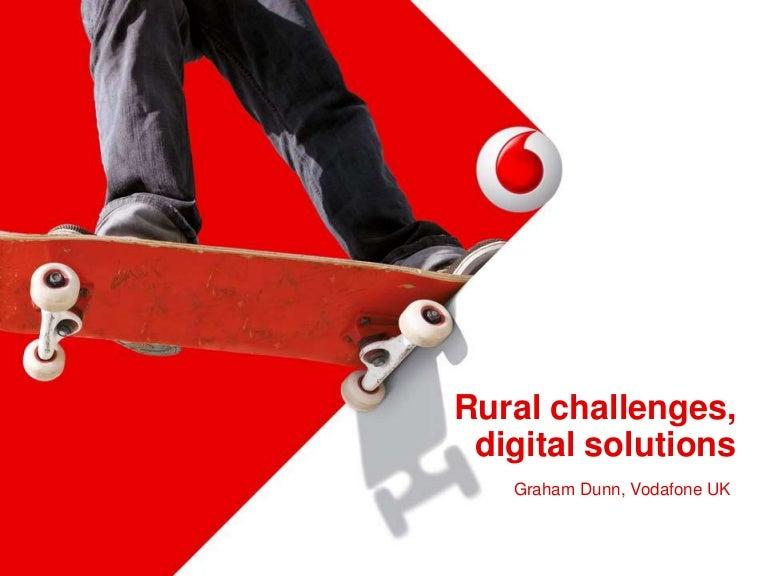 rural open sure signal programme - graham dunn (vodafone uk), Presentation templates