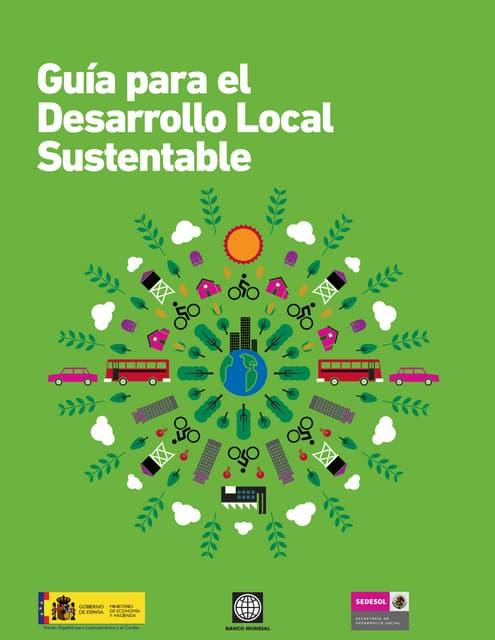 Guia para el desarrollo local sustentable