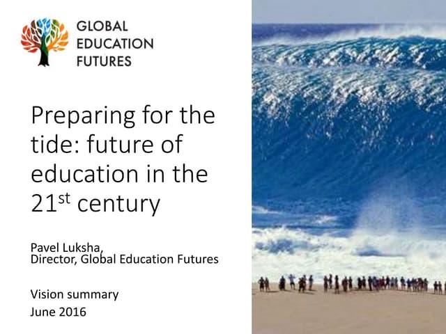 Global Education Futures: Vision Summary