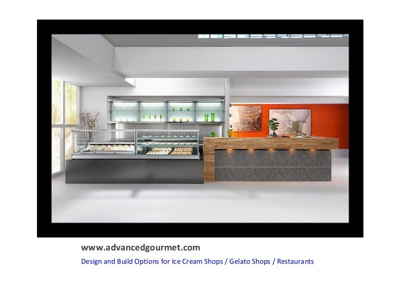 Gelato Ice Cream Store Design And Build