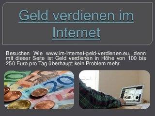 Verdienen Sie Geld online - Sie sind immer noch ein Profi