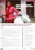 Gender-equitable livestock options for better lives of men and women