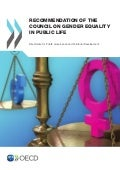 Recommendation of the OECD Council on Gender Equality in Public Life
