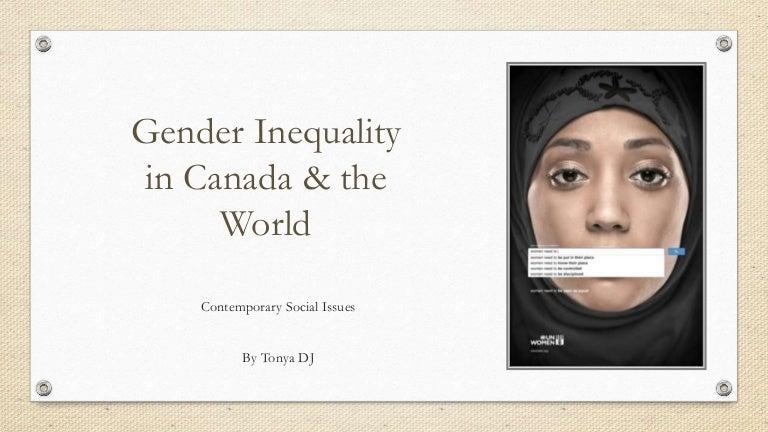 gender discrimination in canada