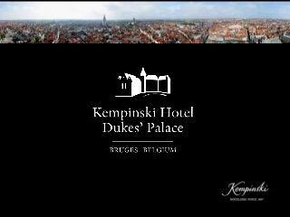 General presentation hotel + vacancies