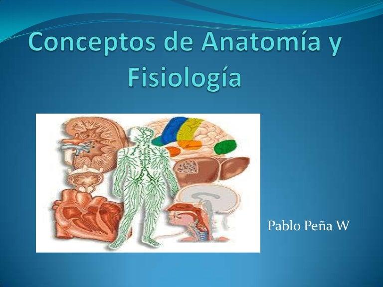Generalidades de anatomia y fisiologia humana
