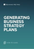 Generating Business Strategy Plans