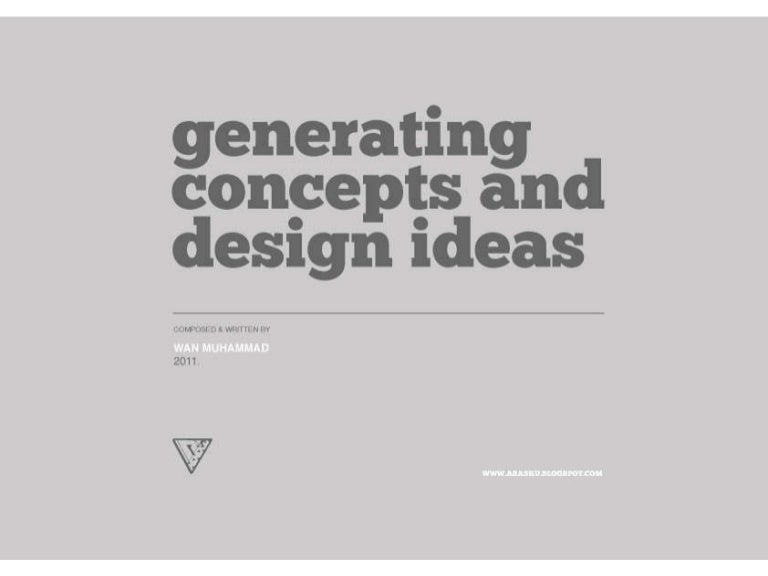 Generating Architectural Concepts Design Ideas