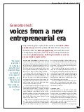 Ericsson Business Review: Generation tech: voices from a new entrepreneurial era