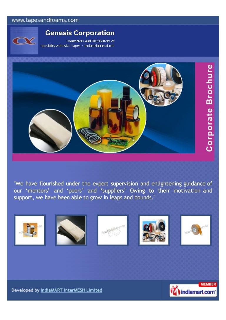 Genesis Corporation Chennai Self Adhesive Tape Wiring Harness Industry In