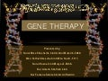 Gene therapy ppt