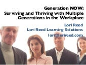 Generation Now: Surviving and Thriving With Multiple Generations in the Workplace