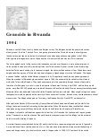 european intervention and the rwandan genocide essay Why un did not intervene rwanda failures of international community cemile pehlivan - selami mete akbaba abstract this article involves historical background of rwanda genocide and investigation of the attitude of international community the goal is to show that international community has not.