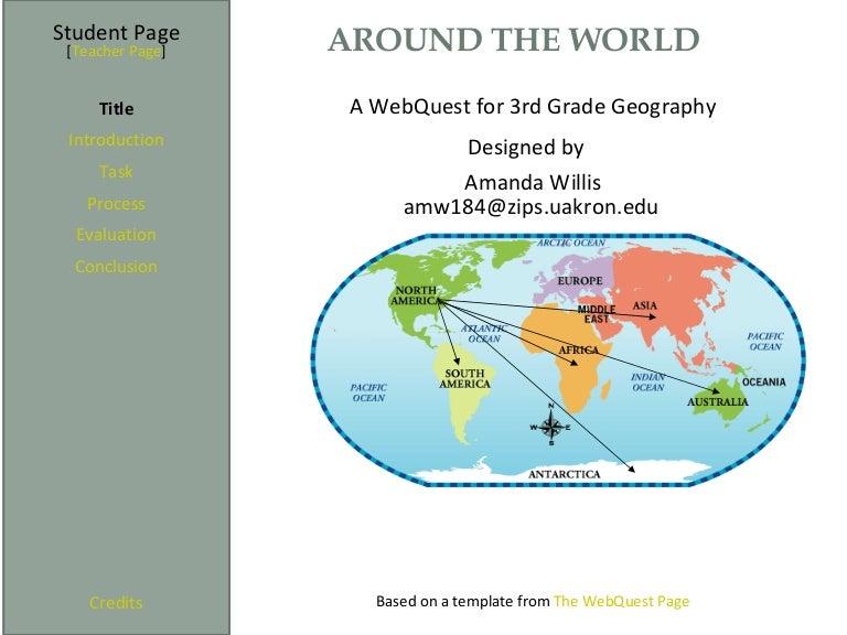 Geography Webquest