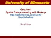 Spatial Data processing with Hadoop