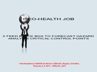 Career that deals with forecasting,preventing natural disasters,hazards and so on?