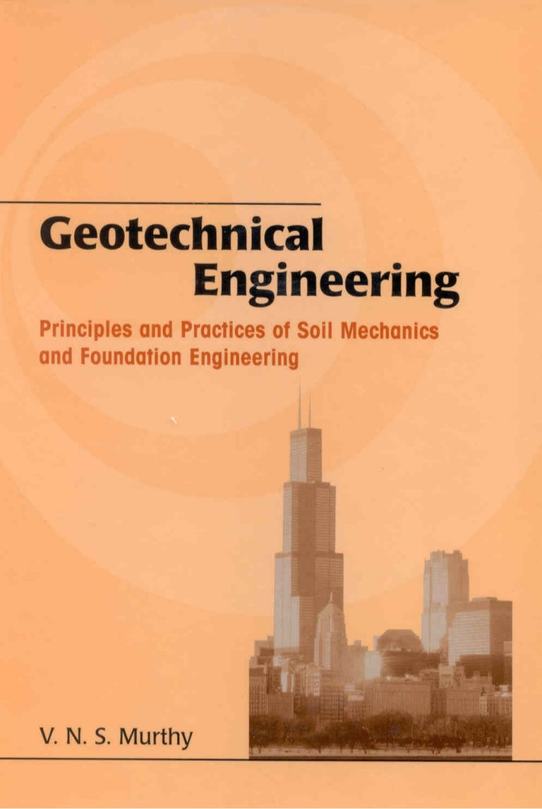 geotechnical engineering essay Geotechnical and geological engineering publishes papers in the areas of soil and rock engineering and hydrology as applied in the civil engineering, mining and water industries the emphasis is on the practical aspects of geotechnical engineering, engineering geology and hydrogeology, although papers on theoretical and experimental advances in.