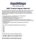 GEO    Prizm Repair Manual 19901997