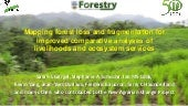 Mapping forest loss and fragmentation for improved comparative analyses of livelihoods and ecosystem services
