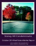 Stoney Hill Condominiums, Westfield, MA October 2014 Real Estate Report