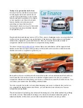 Get better deal with bad credit car loan
