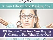 How to Deal With a Freelance Client Who Doesn't Pay