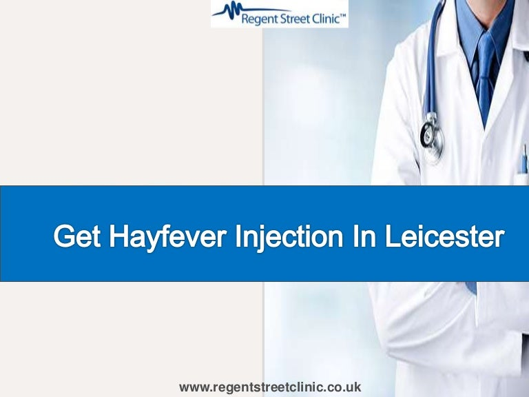 Are you looking for Hay Fever Injection in Leicester?