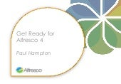 Get ready for alfresco 4