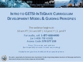 GETSI Overview & Guiding Principles