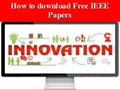 How to download free IEEE papers