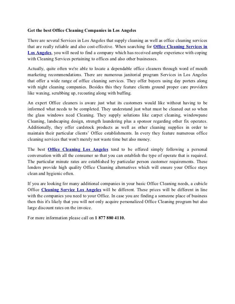 Getthebestofficecleaningcompaniesinlosangeles 130325075846 Phpapp01 Thumbnail 4?cbu003d1364198365
