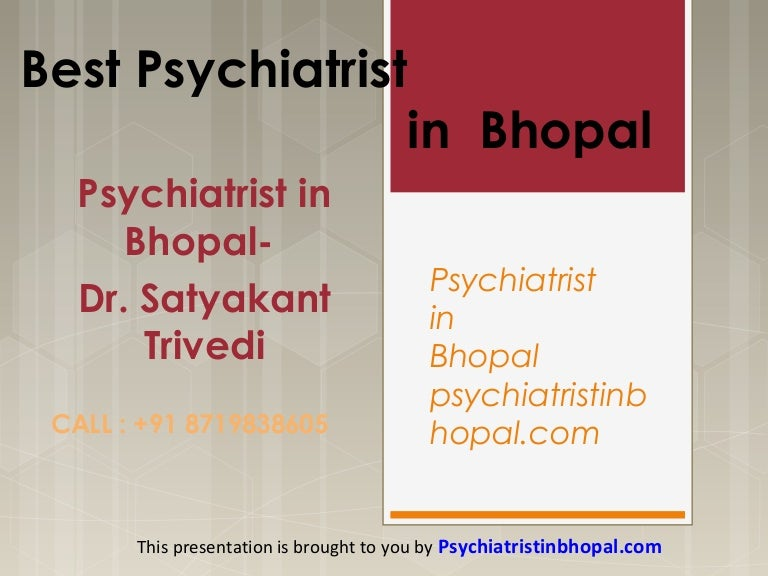 Get the best psychiatrist in bhopal