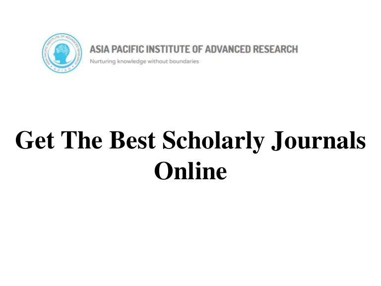 Online dating academic journals