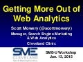 Getting More Out of Web Analytics