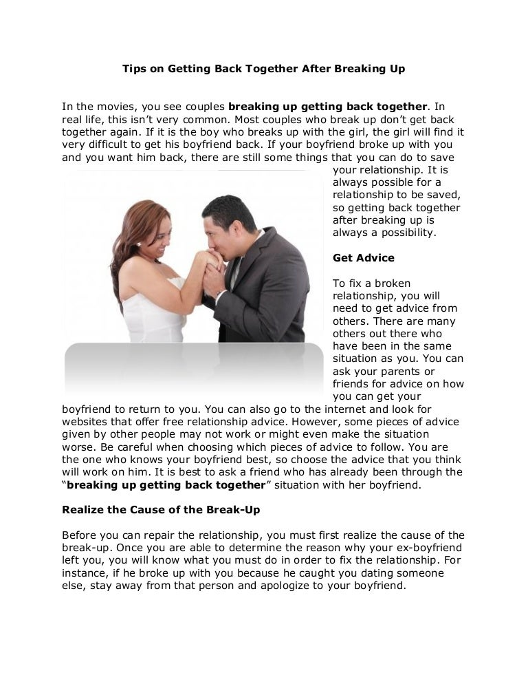 Success Stories Couples Getting Back Together