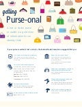 Getting Purse- onal